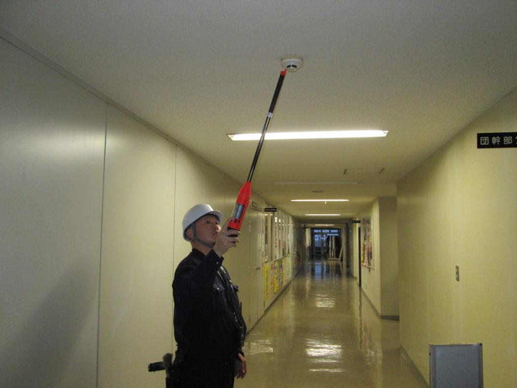 消防用設備等点検の画像